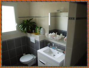 Salle d'eau et WC chambre papillon et New-York